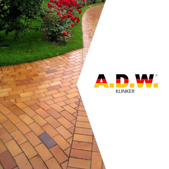 Тротуарный кирпич ADW Klinker