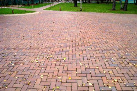 Тротуарный кирпич ADW-Klinker ALTFARBEN BUNT GEFLAMMT