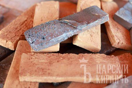 Царский кирпич - плитка ручной формовки