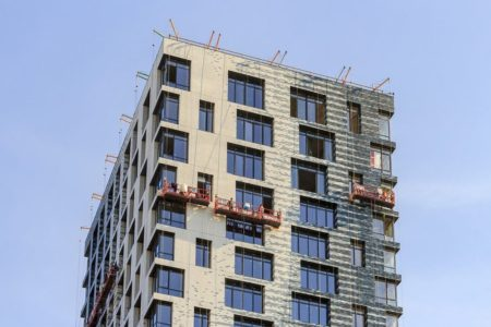Вентилируемый фасад с клинкерной плиткой