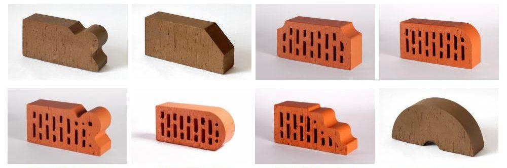 Фигурный керамический кирпич Lode