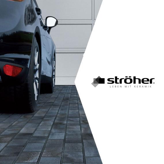 Тротуарная плитка Stroeher