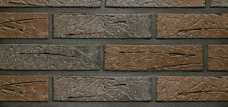 Керамический кирпич Terca Terra flame редуцированный с песком