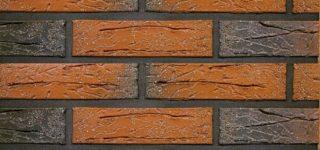 Керамический кирпич Terca Red flame редуцированный с песком