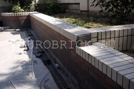 Фасад из клинкерной плитки Stroher, Самара