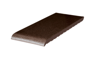 Клинкерный подоконник Коричневый глазурованный (02) Brown-glazed