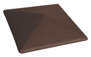 Колпак на забор Коричневый (03) Natural brown