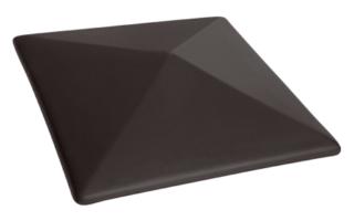 Колпак на забор Вулканический черный (18) Volcanic black