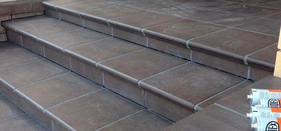 Клинкерные ступени  Stroeher и напольная плитка