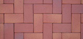 Тротуарный кирпич Koln, rot-geflammt ADW-Klinker