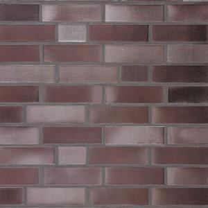 Клинкерная плитка Roben NEUMARKT burgund blaurot-geflammt, glatt