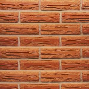 Керамический кирпич Red Антично-колотый