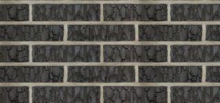 Керамический кирпич Terca Vulcano Antracit шероховатый