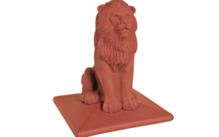 Колпак на забор Royal LION со львом