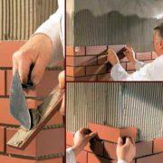 Теплоизоляция с клинкерной плиткой